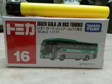 119 Tomica isuzu bus not hotwheels