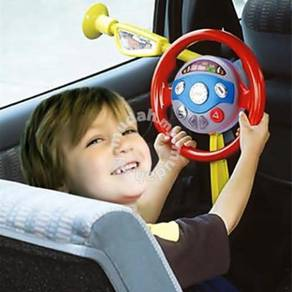 Kids Steering Backseat With Sound And Light