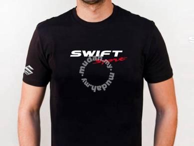 Baju T-Shirt SUZUKI SWIFT VI NSQ140 siap poslaju