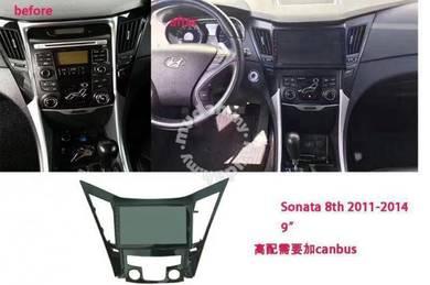 Hyundai sonata 9* android car player 1RAM 16G