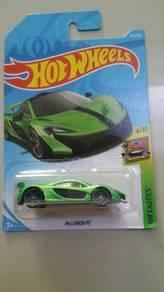 HotWheels McLaren P1 Green