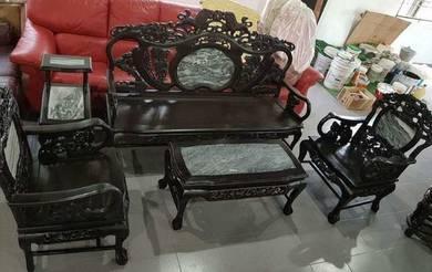 Living hall set - antique