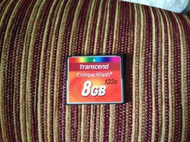 Transcend CF Card - 8gb / 133x (used)
