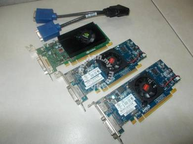 ATI Radeon & Nvidia Quadro Graphic Card