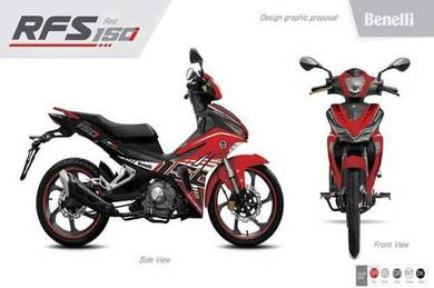 2018 Benelli rfs150(END YEAR PROMOTION)