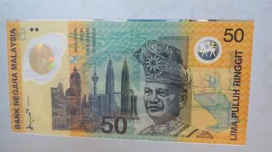 Commonwealth Games Rm50 Polymer Banknote