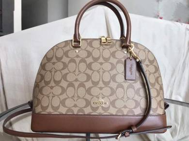 Coach Signature Sierra Satchel Bag