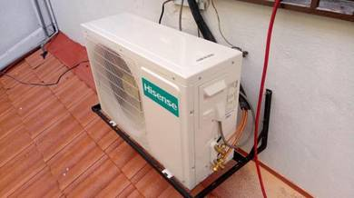 Service chemical air cond