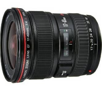 Canon EF 17-40mm f/4L USM Autofocus Zoom Super Wid