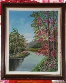 Lukisan cat arkilik