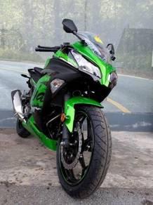 Kawasaki Ninja 250 19 Free Gift Items With Exhaust