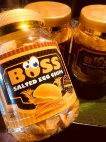 Boss salted chips