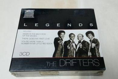 THE DRIFTERS - LEGENDS 3-CD BOX Set
