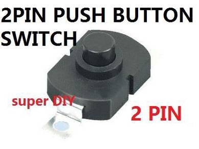 2 Pin Push Button On Off Switch