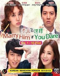 KOREA DRAMA DVD Marry Him If You Dare