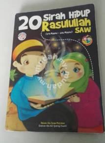 Buku Terpakai : 20 Sirah Hidup Rasullah S.A.W