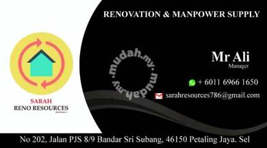 Renovate Rumah, Kedai, pejabat dan Restoran