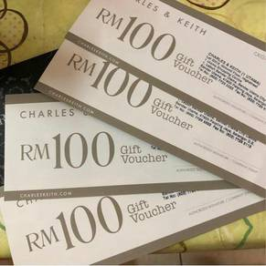 Charles and Keith Cash Voucher