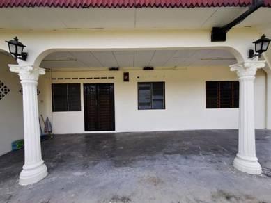 Full Loan Taman University Corner Lot Single Storey Low Cost