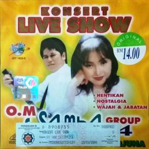 OM Samba Group Konsert Live Show Vol.4 VCD