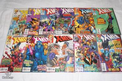 X-MEN. 1991 series issue 71-81. Collector's Set