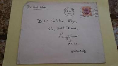 OFFER Antik Old Cover KL England 1950s No 371