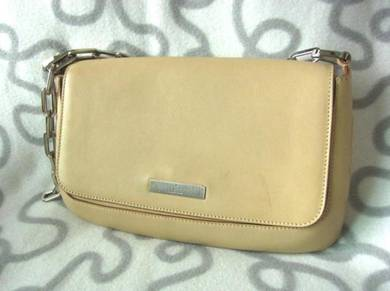Kenji Gucci used shoulder peach full leather Japan
