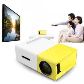 LED Mini Portable Projector ( 400~600 LUMEN )