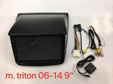 Mitsubishi triton L200 android car player 1RAM 16G