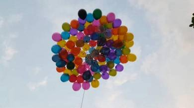 50pcs Balloon Helium Self Pickup 00471