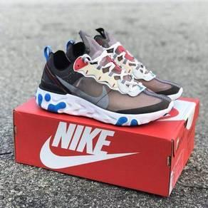 Nike react element brown