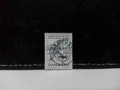 1984 Denmark Stamp, Memorial Anchor