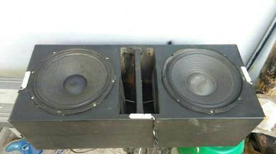 Double woofer 12inci