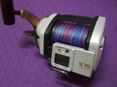 Shimano Digitana SLS Lever Drag 6000 2speed bangla