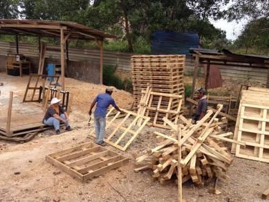 Pallet pinewood plank RM 1