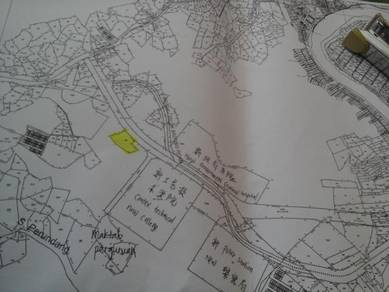Lundu pan borneo highway first lot development mix zon land