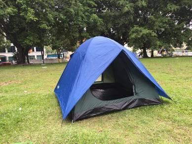 Khemah Alaska 6person & 8person dome tent