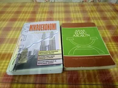 Buku mikroekonomi dan asas akaun