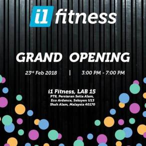 I1 Fitness Grand Opening
