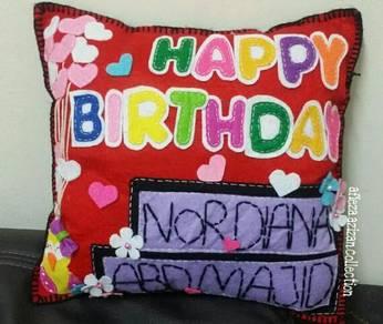 Sweet pillow- Happy Birthday