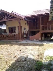 Rumah kampung tanah lot untuk disewa - Langgar