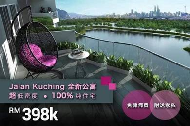 99 Luxury Condo Pre launch at Jalan Kuching [KTM][MRT]