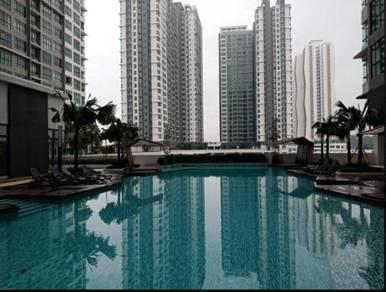 Partially Furnish 3 bedrooms Apartment, Conezion Residences, Putrajaya