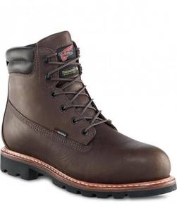 Safet Shoe Red Wing Men 6In Brown EH ST IN WP 4403
