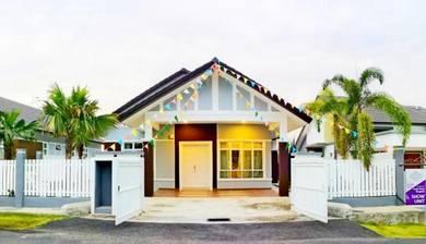 Rumah Bungalow Baru. 1 tingkat. Guarded 50x85