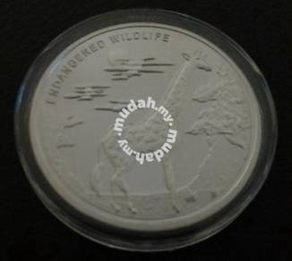 2007 Congo 10 Franc Commemorative Silver Coin