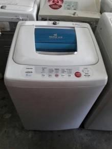Toshiba Basuh Washing Machine Recon Top Mesin Load