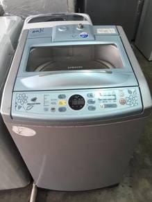 Samsung Auto 10kg Basuh Top Washing Machine Mesin