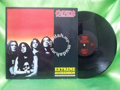 Kreator EXTREME AGGRESSSION 1989 Noise German LP