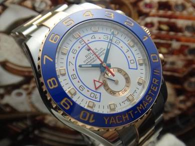 R284) rolex oyster perpetual yacht master 2 116681